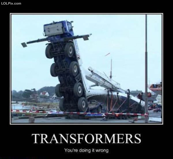 Viewing Page 17/18 from Funny Pictures 1134 (Transformers) Posted 11/1 ...