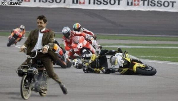 Crazy Mr Bean