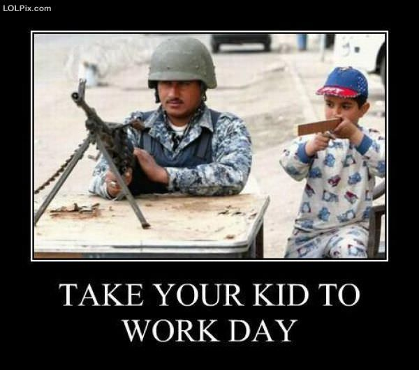 Take Your Kid To Work