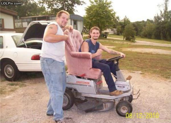 Redneck Lawn Mower Funny Pictures 1151 Pic 7