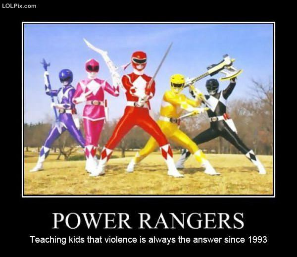 ... Page 14/18 from Funny Pictures 1286 (Power Rangers) Posted 7/31/2012