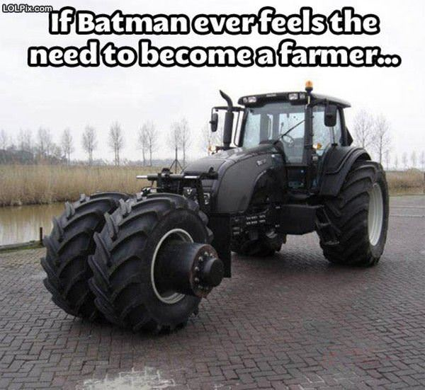 Batman Farm Equipment