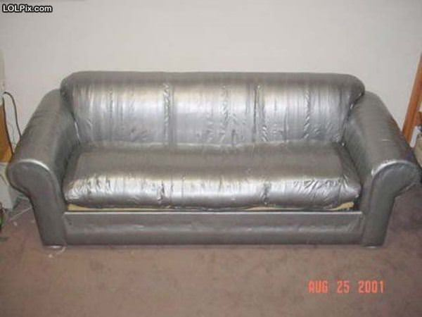 Duct Tape Couch
