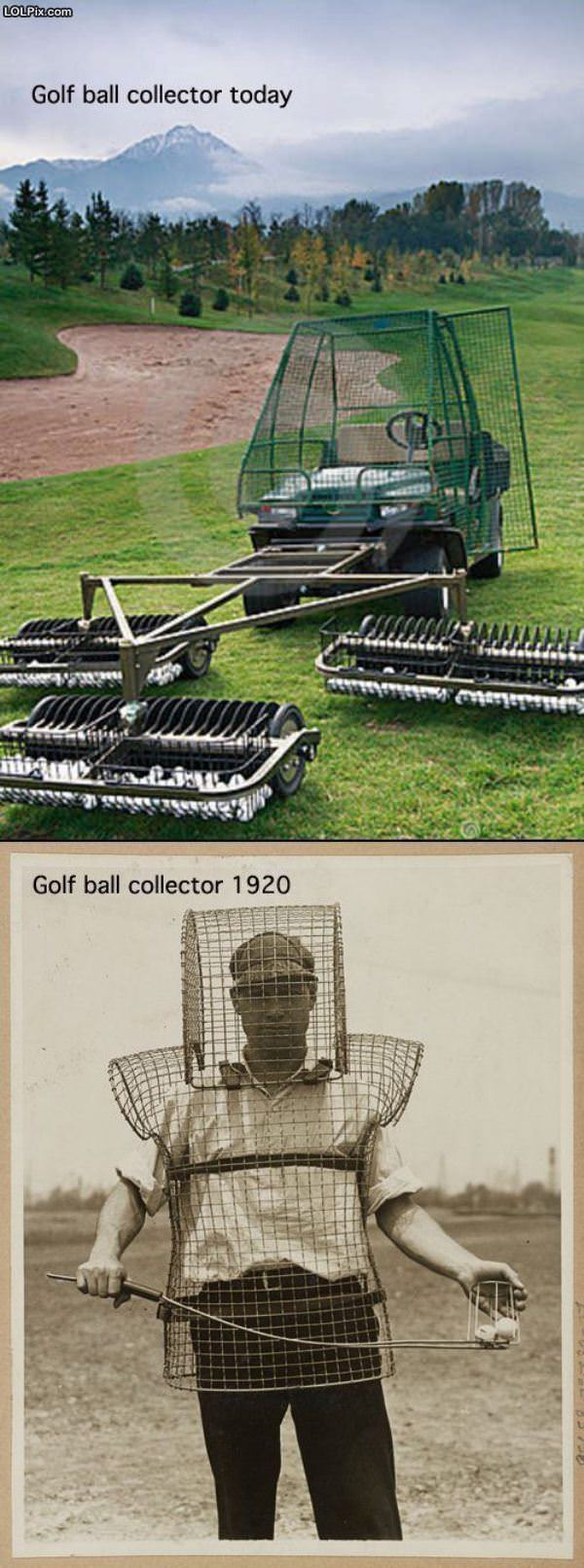 Golf Ball Collectors