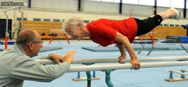 This Granny Is Strong