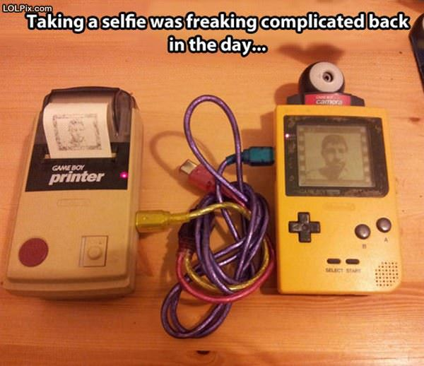 Back In The Day Selfies