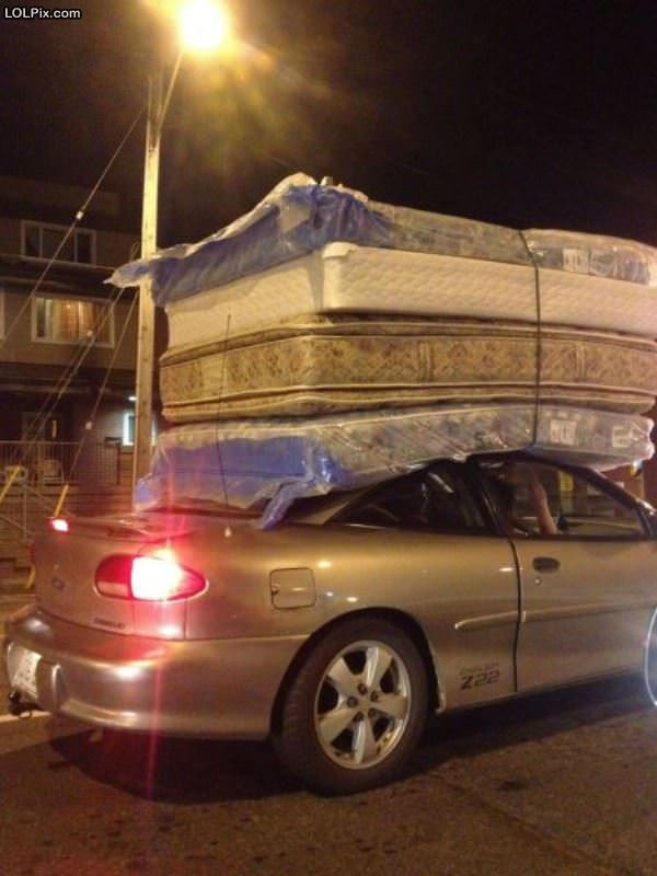 Delivering 2 Beds