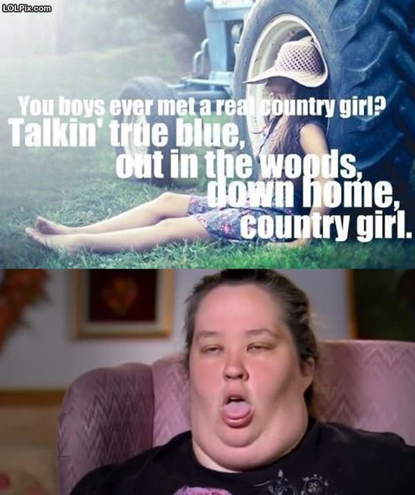 From Funny Pictures True Country Girl Posted