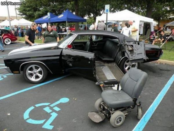 Cool Handicapt Car