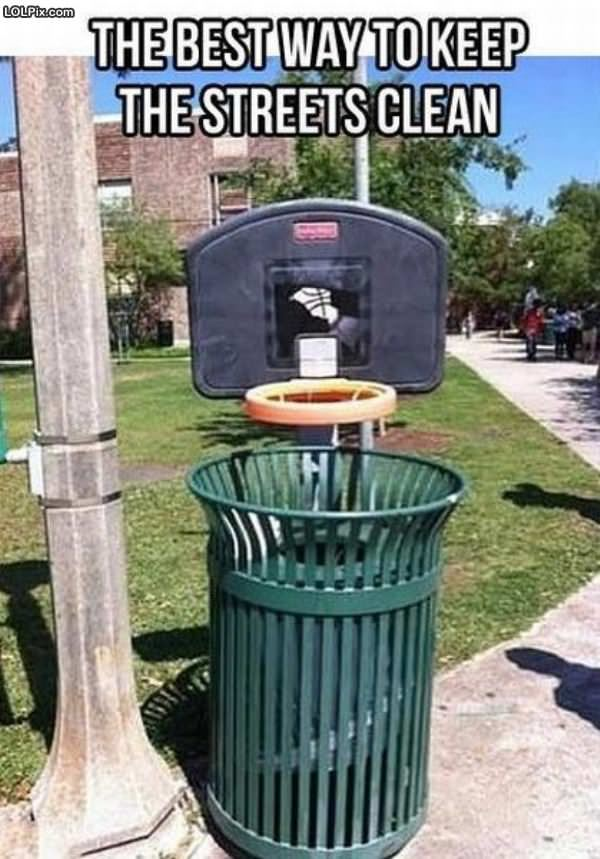 Basketball Garbage