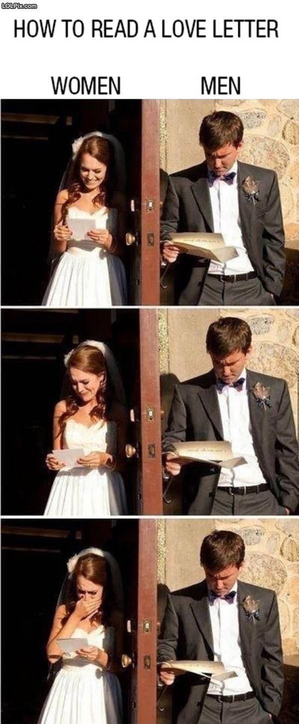 Reading A Love Letter