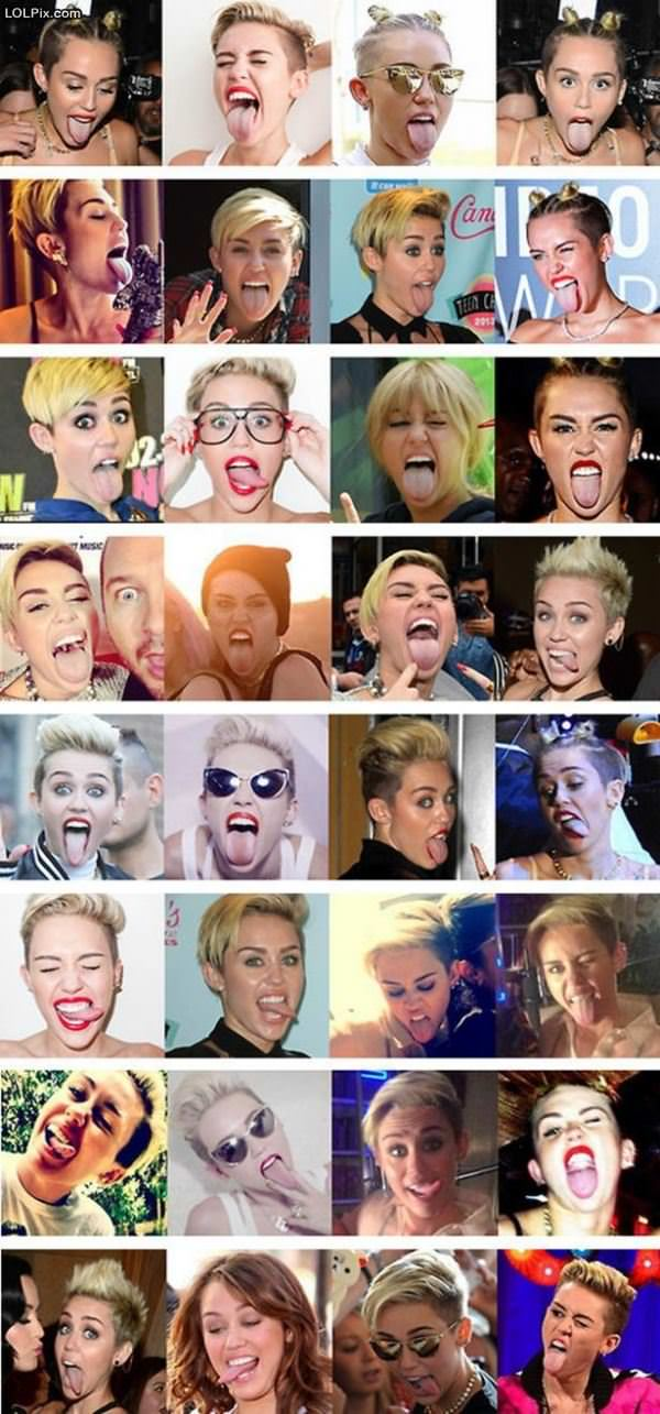 Miley Face
