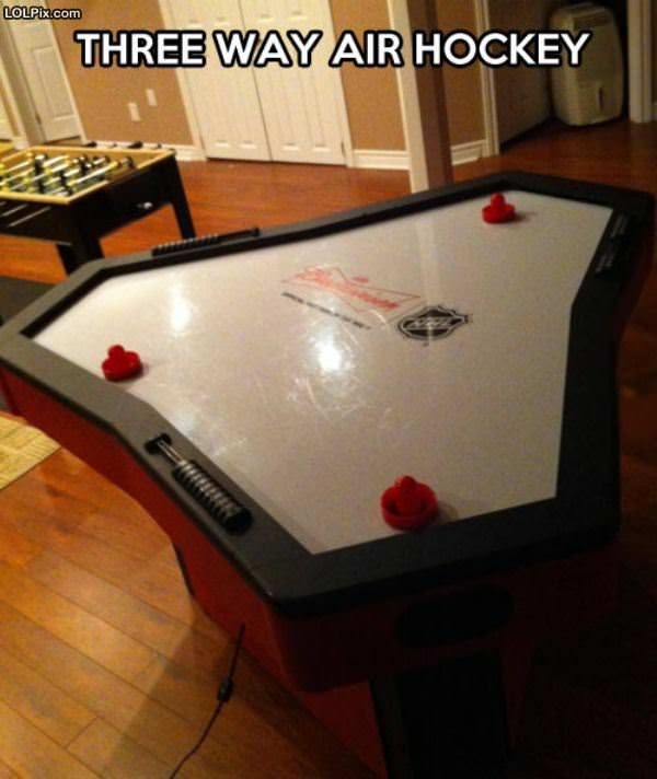 Cool Air Hockey Table