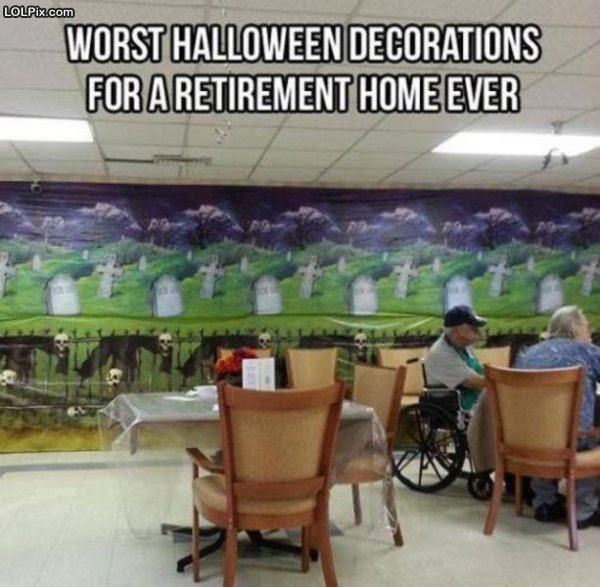 Retirement Home Decorations