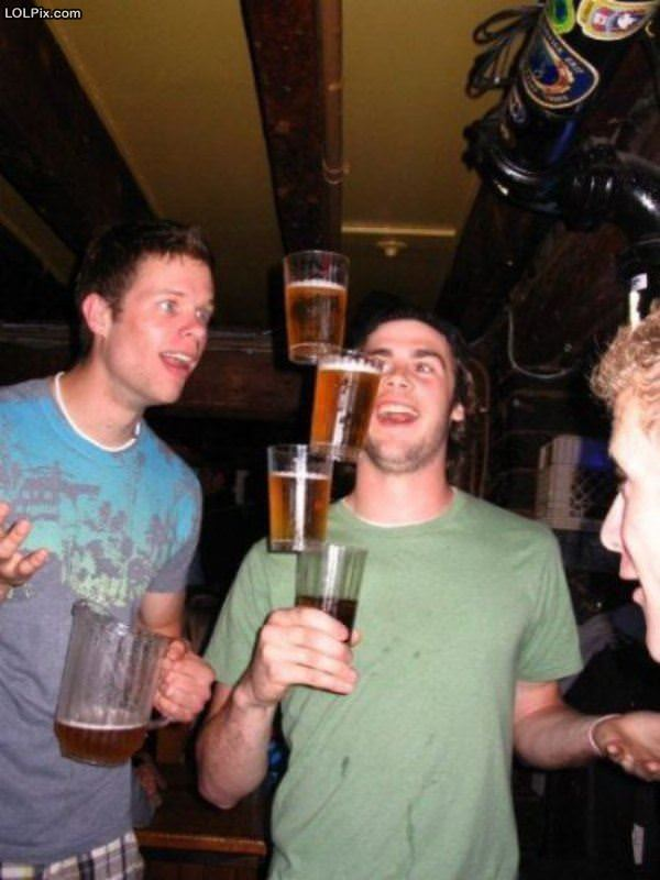 Weird Beer Stacker