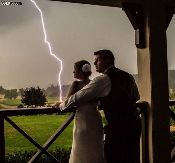 Amazing Wedding Pic