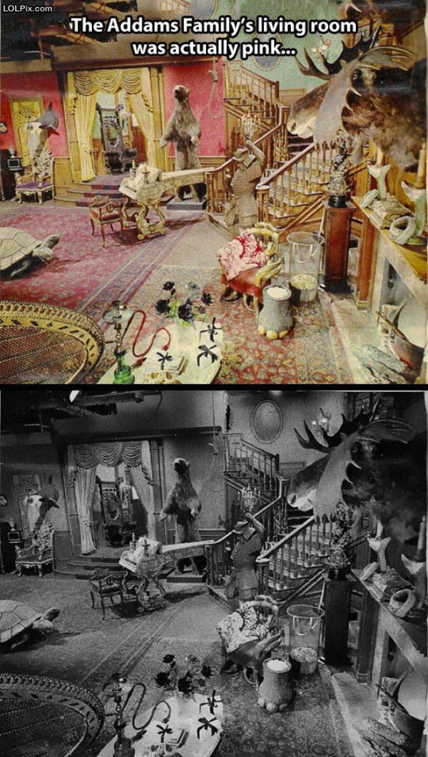 Adams Family Living Room
