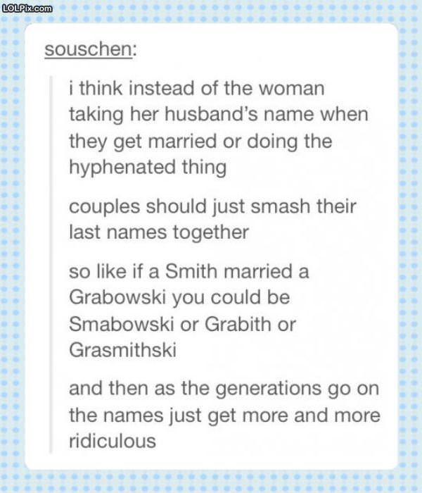 How Names Should Work