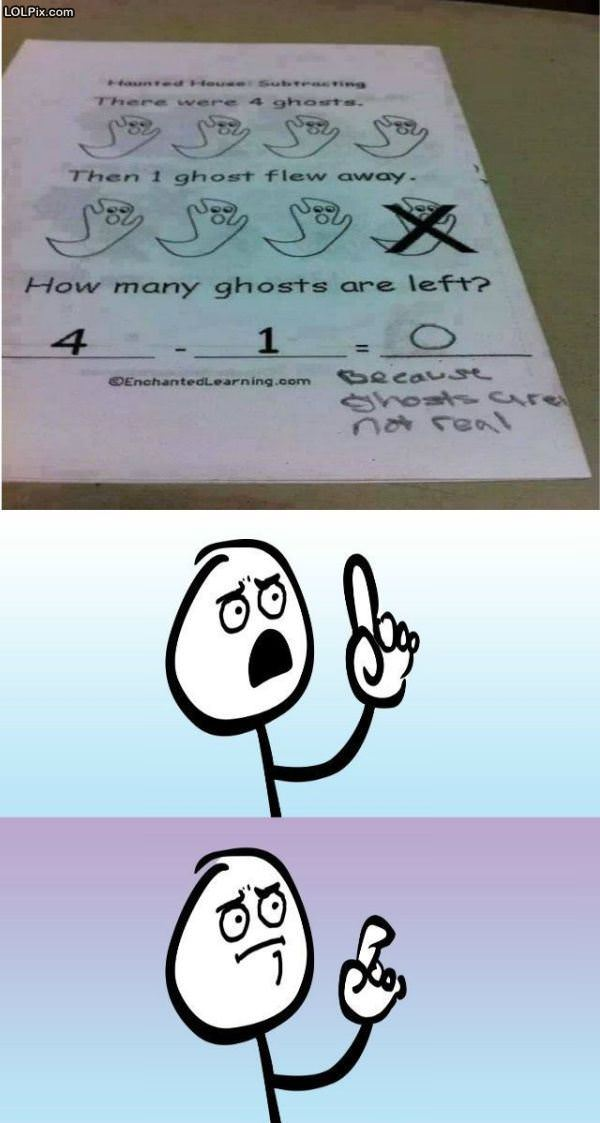 How Many Ghosts