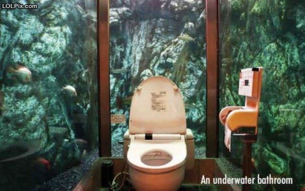 Under Water Bathroom