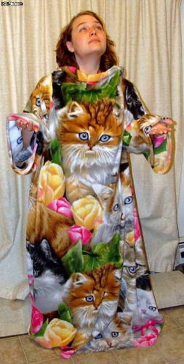 The Cat Robe