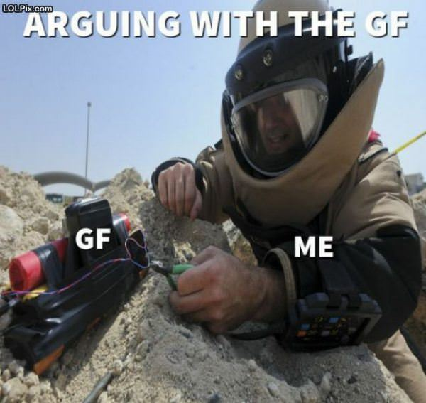 Arguing With The Gf