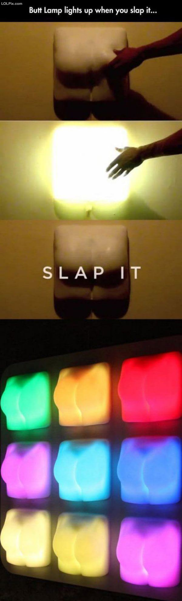 Butt Slap Lamp
