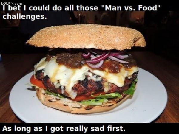 Man Vs Food Challenges