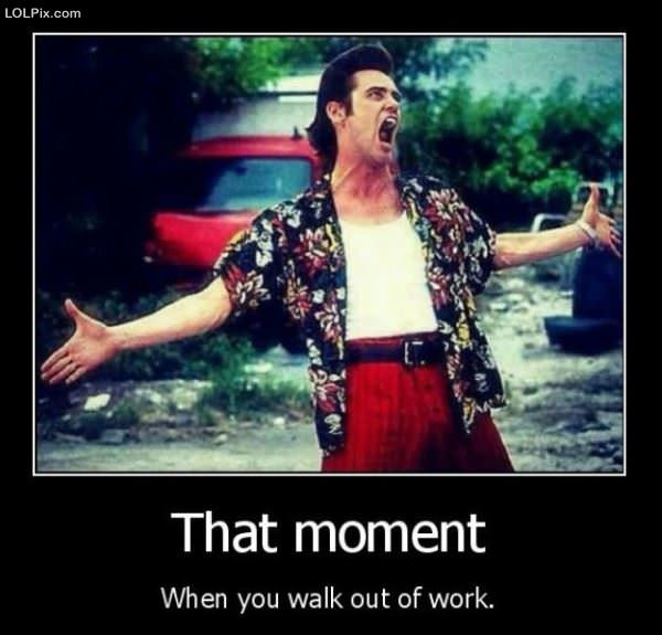 Walking Out Of Work