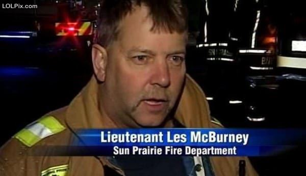 Great Fireman Name