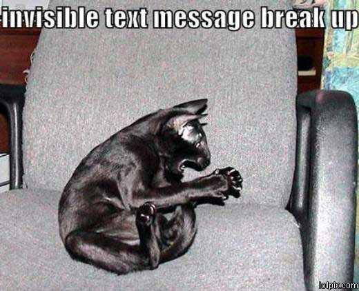 Text Message Break Up