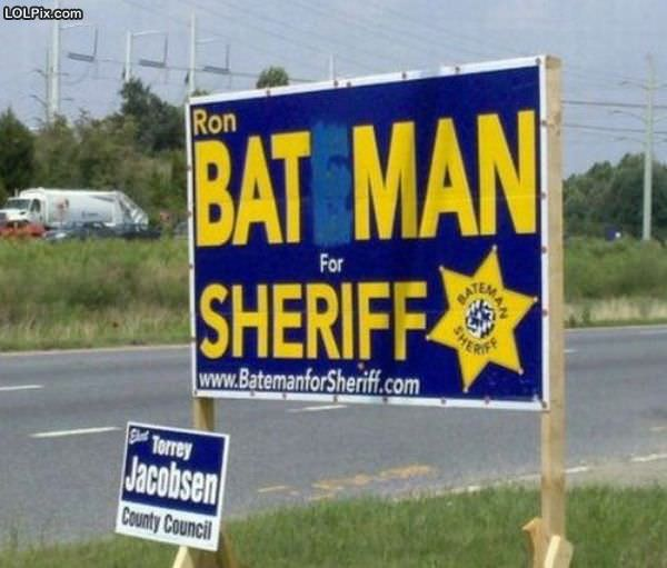 Batman For Sheriff