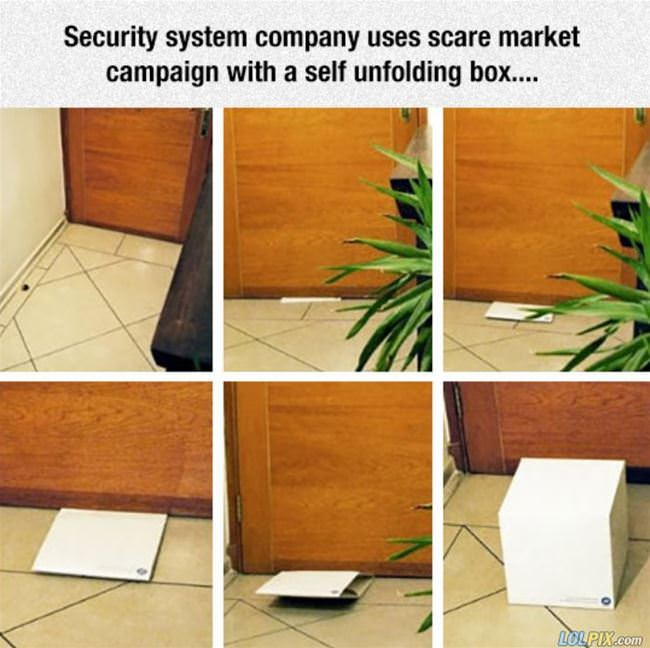 security system advertising