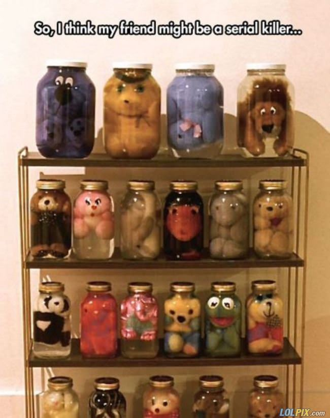 cool stuffed animal collection
