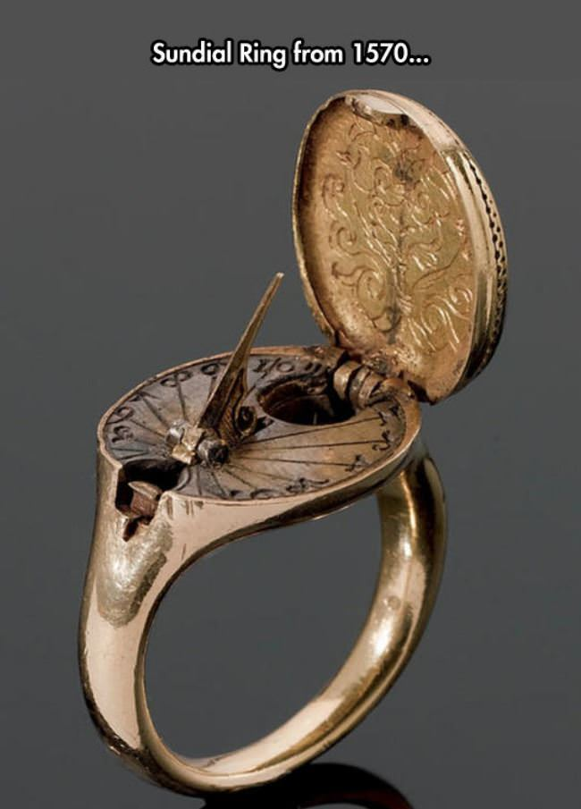 cool sundial ring