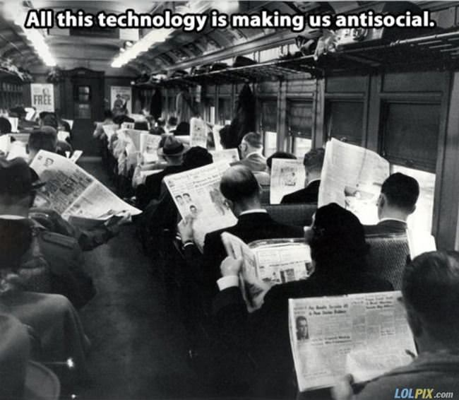 all this technology