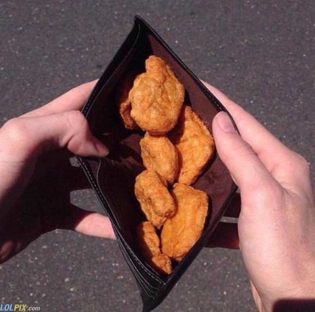 pay for it in nuggets