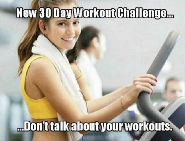 a new workout challenge