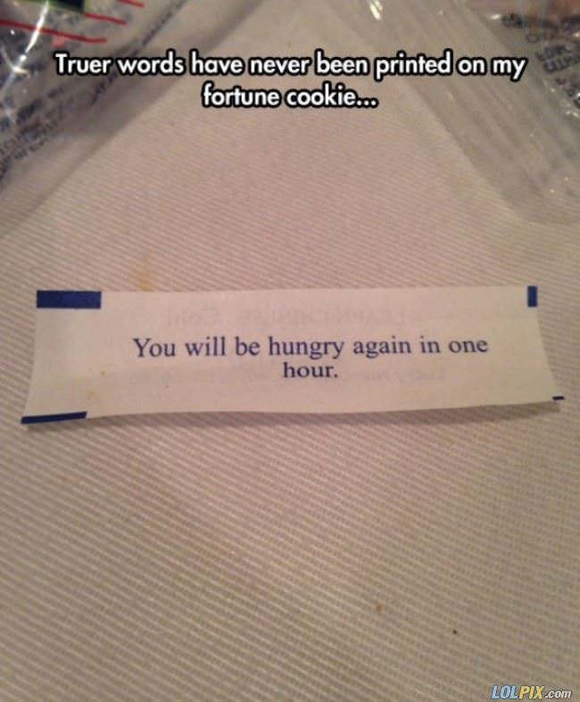 accurate fortune cookie