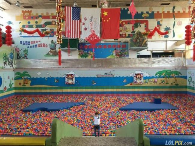 best ball pit ever