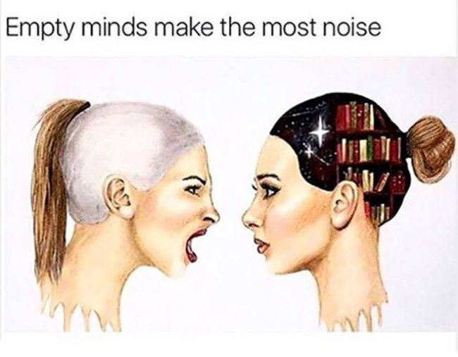 empty minds