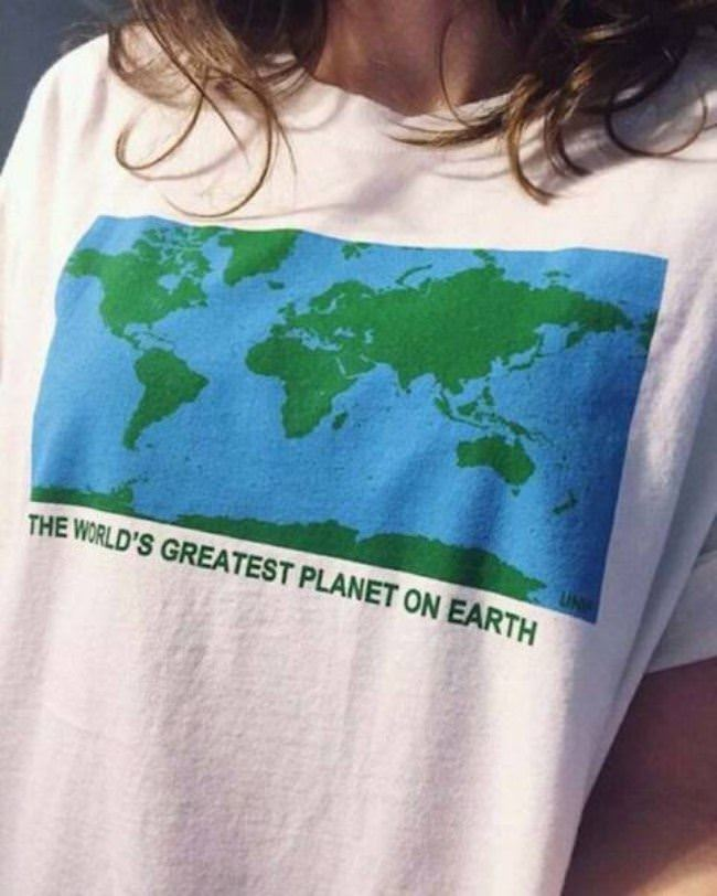the worlds greatest planet