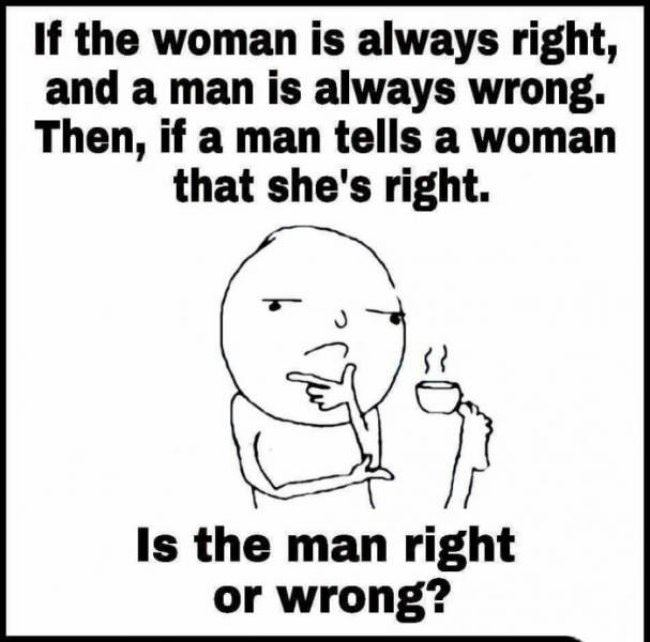 who is wrong