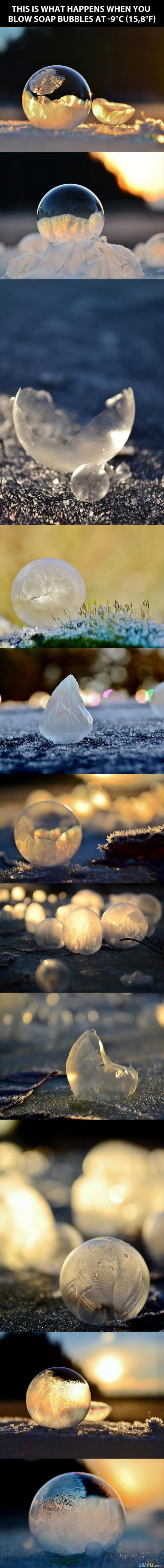 awesome frozen bubbles