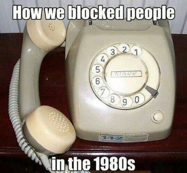 how we blocked people