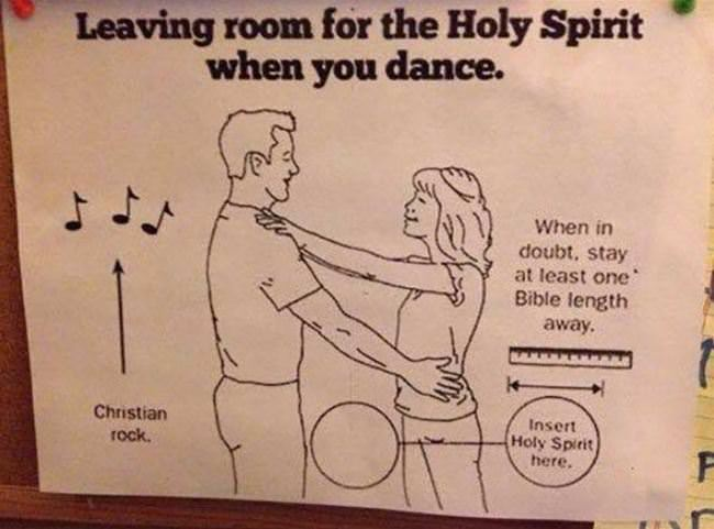 leave room for the holy spirit