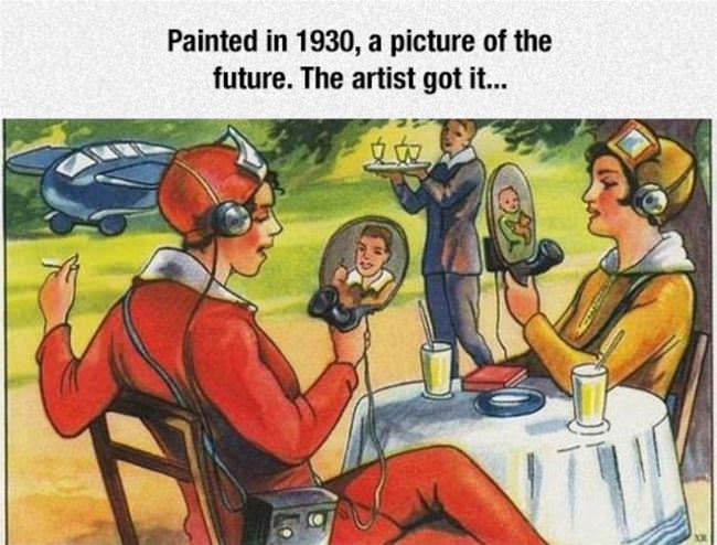 painting of the future