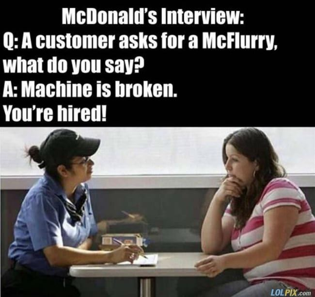 mcdonalds interview