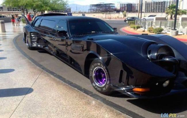 the bat limo