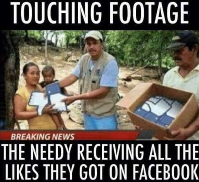 all those facebook likes